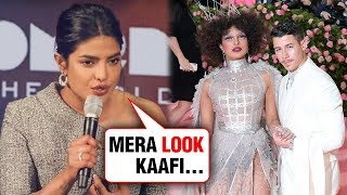 Priyanka Chopra Finally REACTS On Her Met Gala 2019 OUTFIT