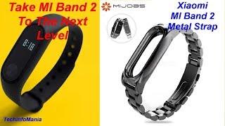 MIJOBS Metal Strap 4 MI Band 2