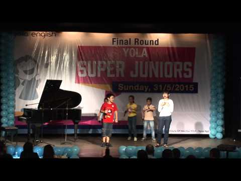 YOLA Super Juniors 2015 - TOP 10 - Nhom Junior 1A