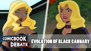 Evolution of Black Canary in Cartoons in 8 Minutes (2018)