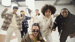 Смотреть клип Rilès, Younès, Leone - Clique