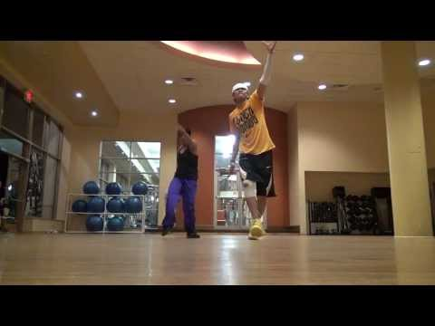 "Slinky Dance Fitness - ""Tonight"" by Jessica Sanchez and Neyo (medium intensity, pop)"