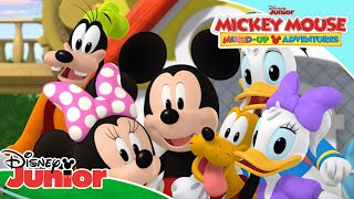 🎶 THEME SONG! | Mickey Mouse Mixed-Up Adventures | Disney Junior UK