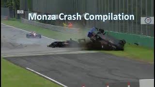Monza Crash Compilation