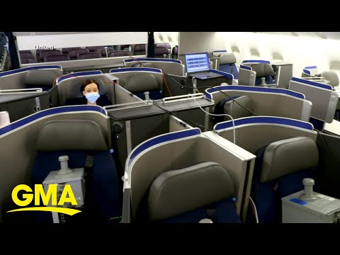 Experiment shows risks of air travel while masked l GMA