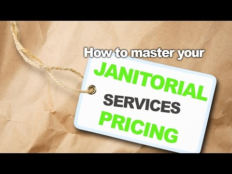 Janitorial Services Pricing - Make More Margin and Fewer Mis