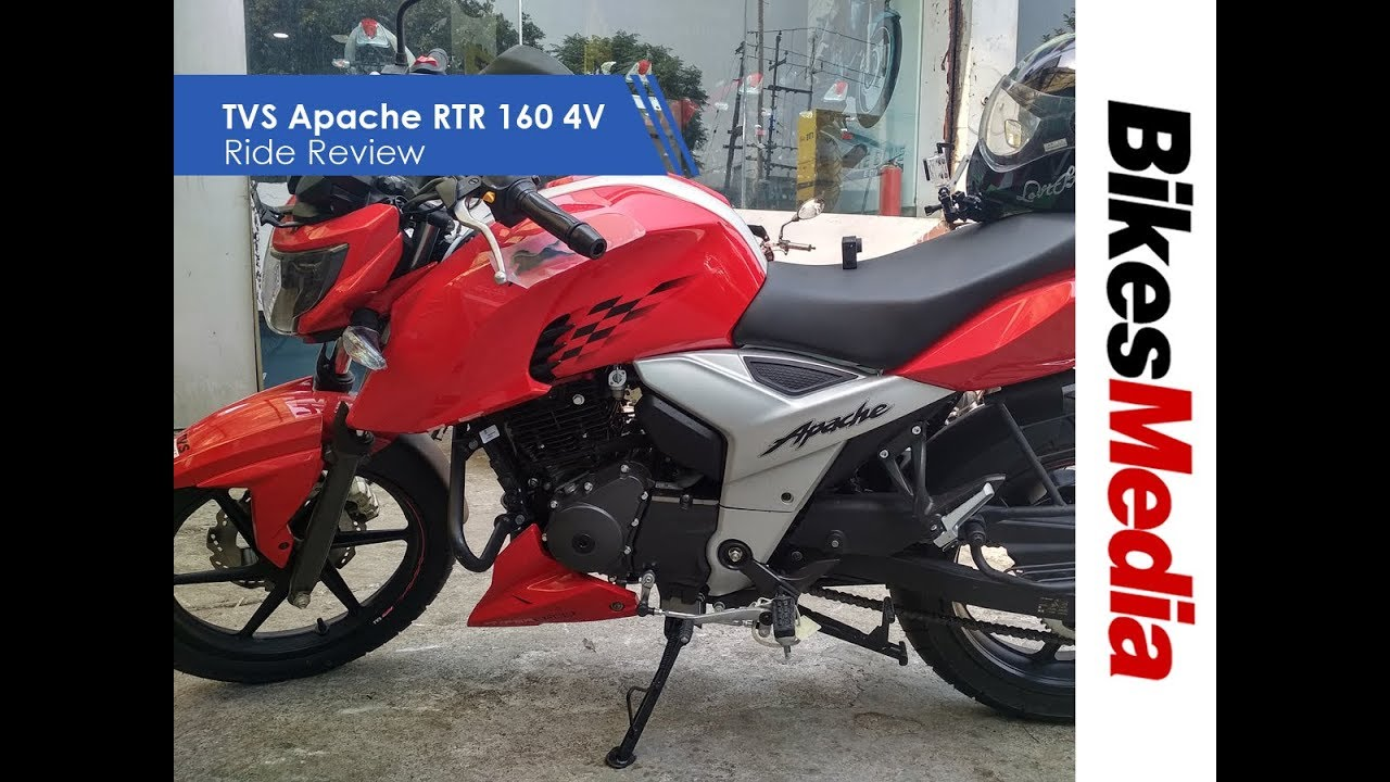 TVS Apache RTR 160 4V First Ride Review - hmong video