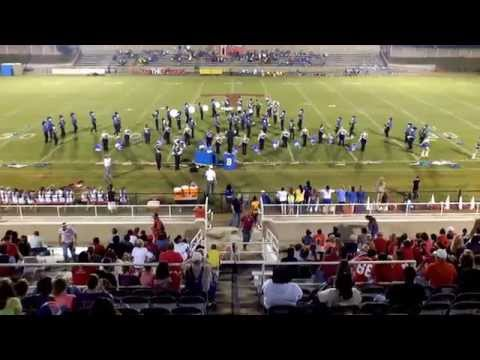 Beauregard High School Band of Blue Week 4 Performance