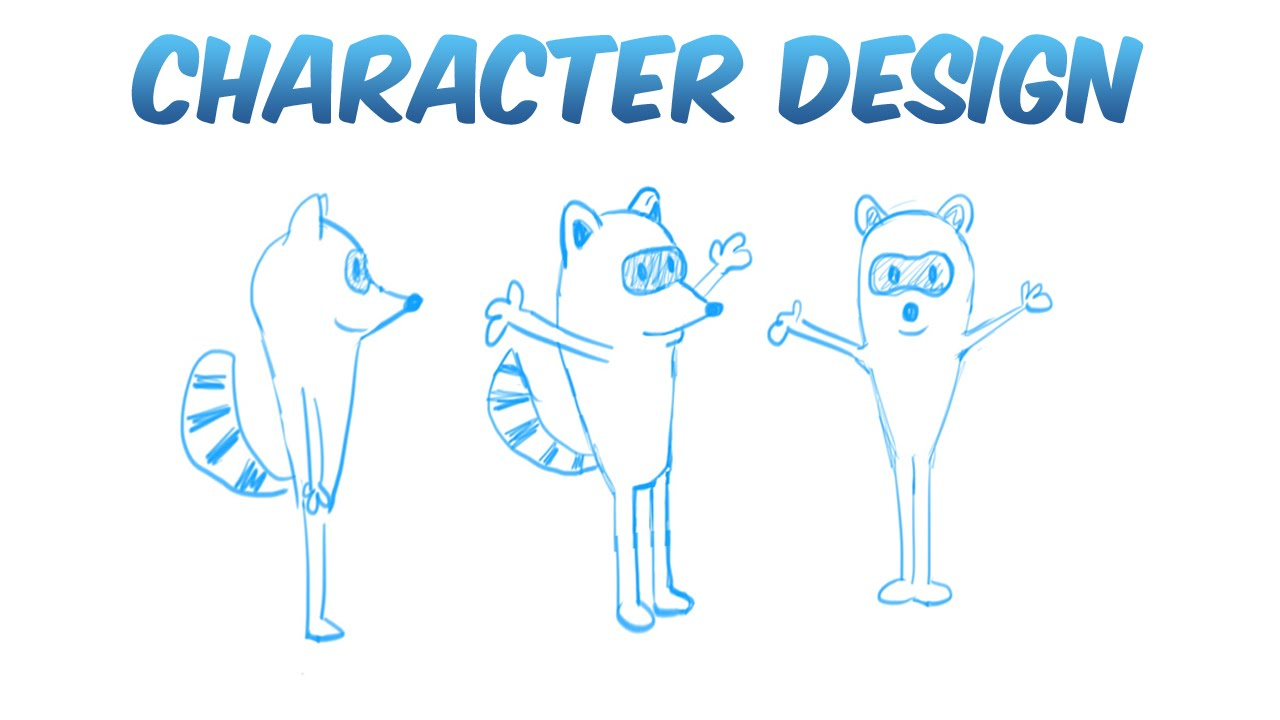 Character Design For Animation Tutorial : Simple character design for animation youtube