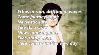 Enya   Echoes In Rain with lyrics