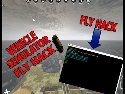 [❄ NEW INSANE❄]  ☄ ROBLOX VEHICLE SIMULATOR FLY HACK☄ LAUNCH YOUR CAR AND MAKE MONEY☄
