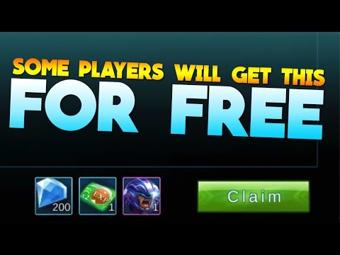 Mobile Legends Free Diamonds For Some Players! (Advance Server)
