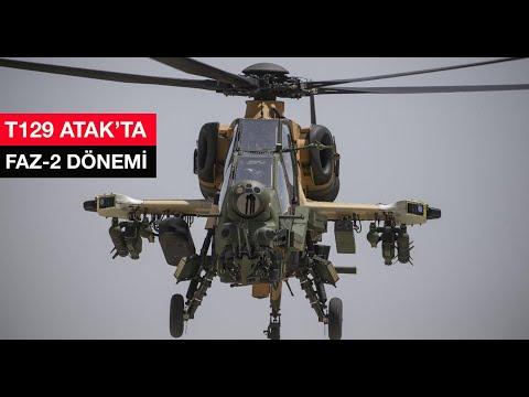 T129 ATAK helikopterinde: FAZ-2 dönemi... Farklar neler? #tusaş #t129 #atak