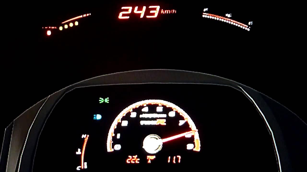 Honda civic type r top speed run gt6 youtube for Honda civic type r top speed