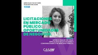 WebinarW: Licitaciones en Mercado Público y Oportunidades de Negocio