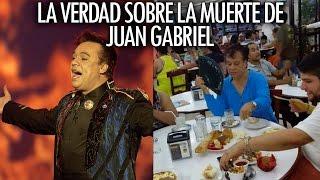 La verdad de JuanGabriel y su muerte
