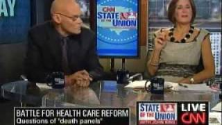 "James Carville Calls Death Panel Chatter ""Right Wing Nuttery"""