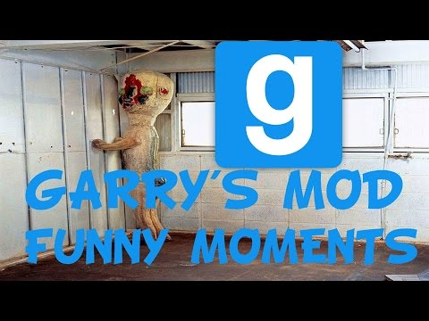 GMOD Funny Moments #1 - SCP Is Scary
