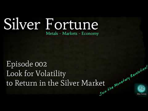 Look for Volatility to Return in the Silver Market - Episode 002