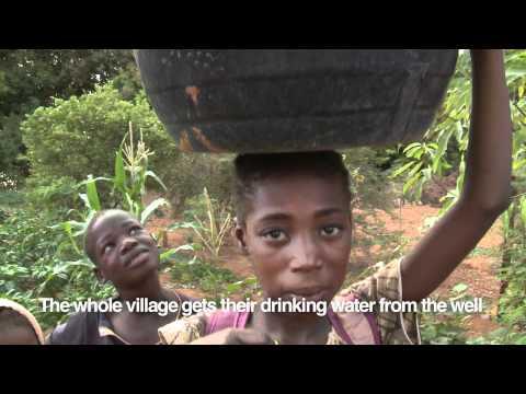 "Thumbnail for video ""Empowering rural women - Oumou's Garden """
