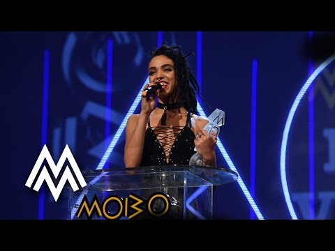 FKA twigs | Best Video acceptance speech at MOBO Awards | 2015 | MOBO