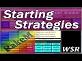 W$R Extra - Starting Strategies