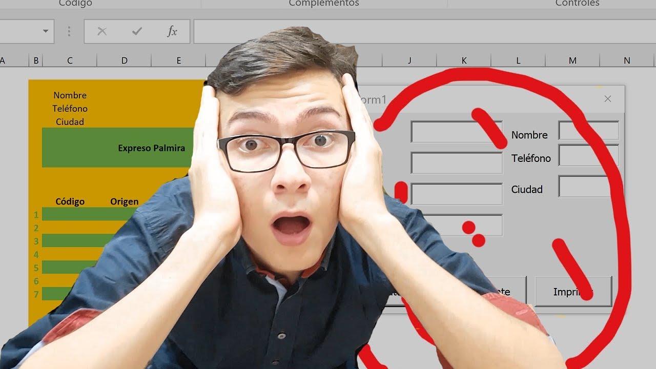9) Ejercicio Completo Grabar|Editar|Programar un macro en excel