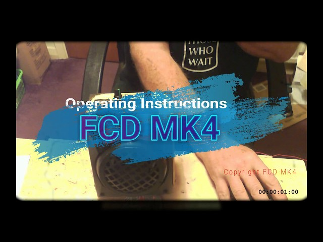 FCD Mk4 On Site Ghost Box /Portal Instructions
