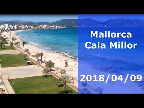 Mallorca Beach - Cala Millor 2018/04/09