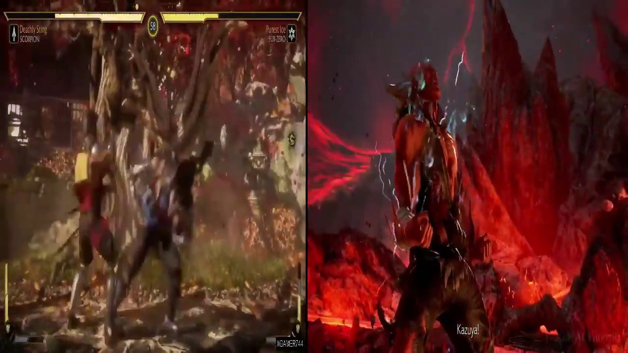 Mortal Kombat 11 Vs Tekken 7 Youtube