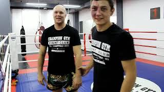 Видео-урок по тайскому боксу | Основы клинча