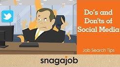 Job Search Tips (Part 20): Do's and Don'ts of Social Media