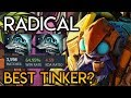 Radical BEST Tinker in the Game? Insane Double Shiva's Combo Dota 2