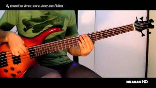 Jamiroquai - Two completely different things(bass cover) New Song -2010
