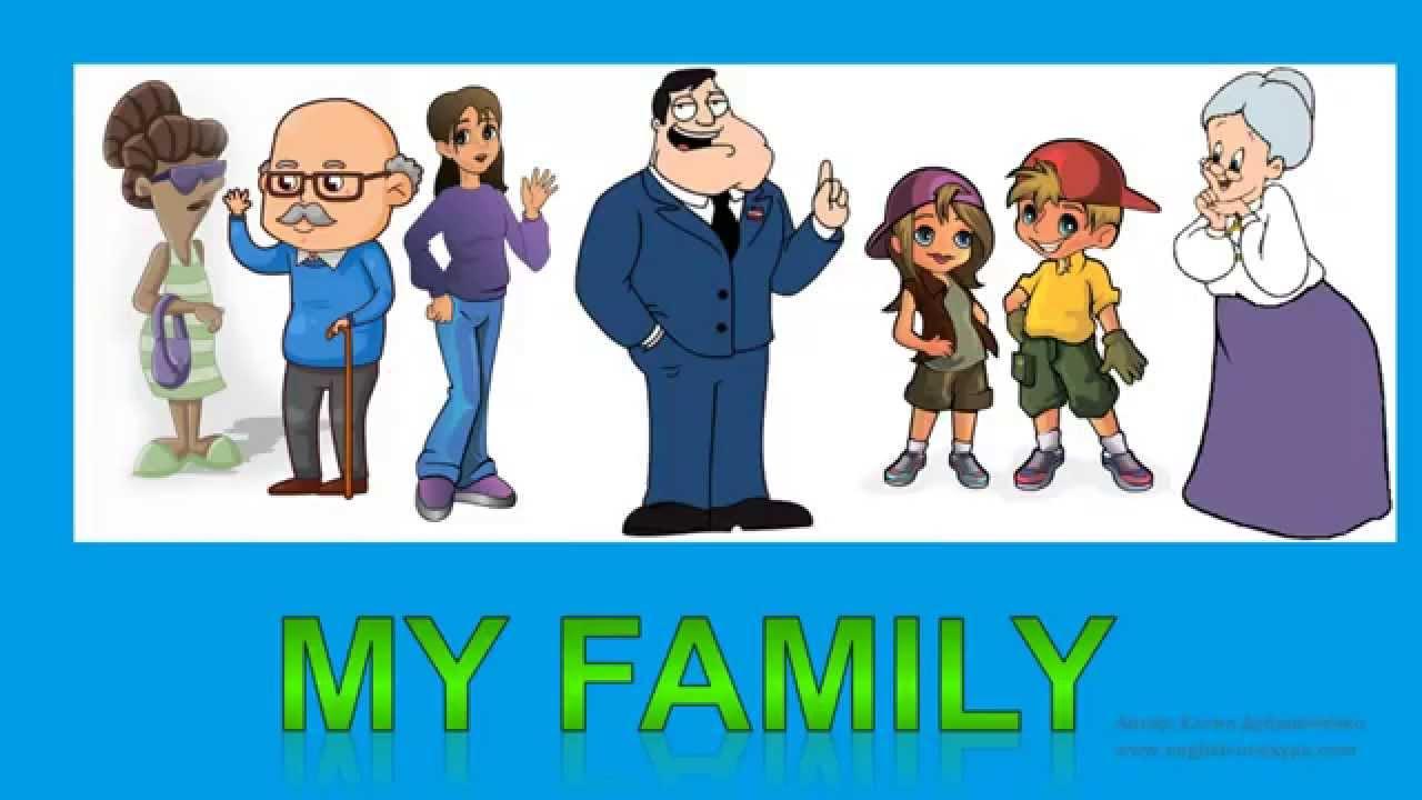 описание моей семьи на английском
