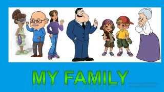 Члены семьи на английском языке