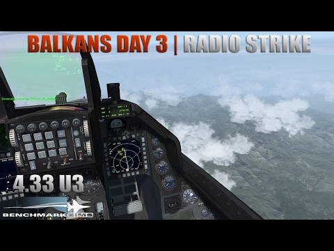 [Falcon BMS 4.33] Radio Tower Strike - Balkans Day 3