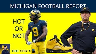 Michigan Football Hot Or Not: 2020 Recruiting, Donovan Peoples-Jones, Another Dud From Sam Webb
