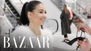 Mabel Goes Heel Shopping, Has 'High Expectations' | Heel Hunters | Harper's BAZAAR