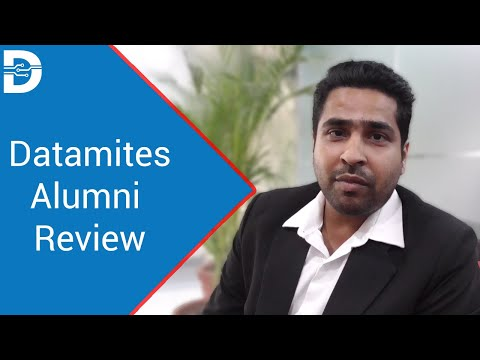 Datamites Alumni Review on Data Science Course in Bangalore