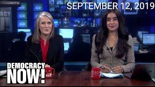 Top U.S. & World Headlines — September 12, 2019