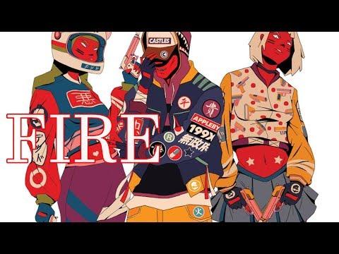 Nightcore - Fire [Deeper Version]