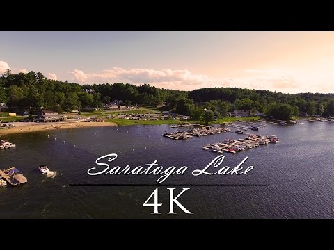 Saratoga Lake, New York 2016 | 4K Phantom 4 Drone Footage!