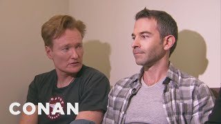 Download Conan Forces Jordan Schlansky To Clean His Filthy Office Mp3 and Videos