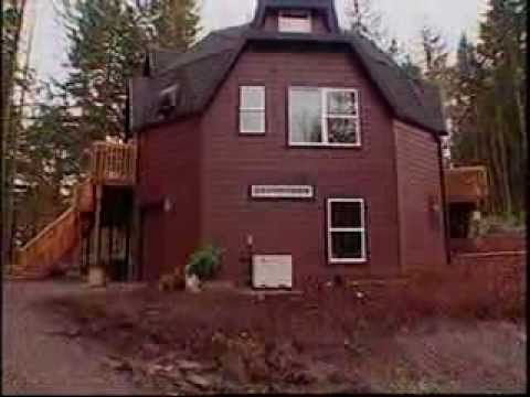 Dome home kits oregon dome youtube for Eco cabin kits