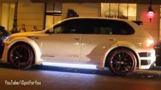 Loudest Porsche Cayenne. Brutal sound!