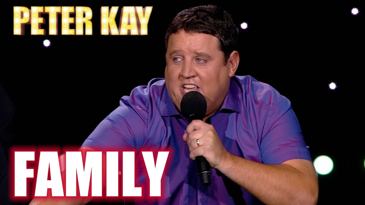 BEST OF Peter Kay's STAND UP on Family | Peter Kay