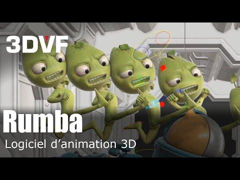 RADI-RAF 2019 : pr�sentation de Rumba, futur logiciel d'animation 3D