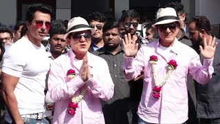 Jackie Chan's GRAND Welcome At Mumbai Airport For Kung Fu Yoga Promotions Full Video HD
