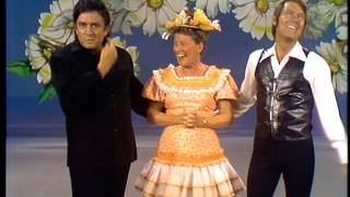 Johnny Cash, Minnie Pearl, & Glen Campbell - The Glen Campbell Goodtime Hour (11 Jan1972)